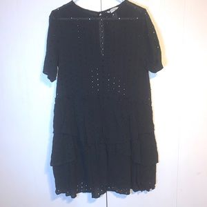 H&M dress size 14 black